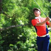 日本男子は2位。杉浦悠太は「65」をマークし、個人戦で2位につけた 2019年 トヨタジュニアゴルフワールドカップSupported by JAL 杉浦悠太