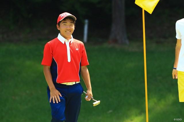 大嶋宝は「64」で団体2位浮上に貢献