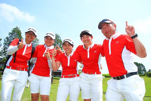 日本女子は大会連覇を達成した