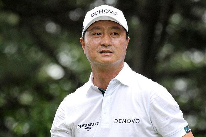 首位に浮上したファン・インチュン(※大会提供) 2019年 コロン韓国オープン 2日目 ファン・インチュン