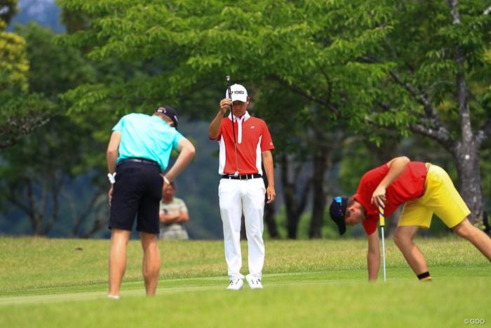 各々今やるべきことを 2019年 トヨタ ジュニアゴルフワールドカップ 最終日 宇喜多飛翔