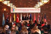 2019年 トヨタ ジュニアゴルフワールドカップ 最終日 表彰式