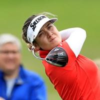 ハンナ・グリーンが首位を守った (David Cannon/Getty Images) 2019年 KPMG女子PGA選手権 2日目 ハンナ・グリーン