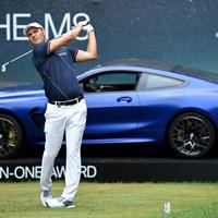 マルティン・カイマーが首位に立った(Stuart Franklin/Getty Images) 2019年 BMWインターナショナルオープン 2日目 マルティン・カイマー