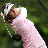 ハンナ・グリーンが首位を守った (Jamie Squire/Getty Images) 2019年 KPMG女子PGA選手権 3日目 ハンナ・グリーン