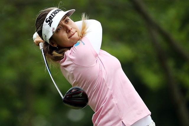ハンナ・グリーン※写真は2019年KPMG女子PGA選手権(Jamie Squire/Getty Images)