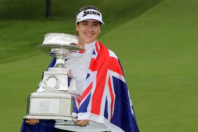 ハンナ・グリーンがツアー初優勝をメジャーで遂げた(Streeter Lecka/PGA of America/PGA of America via Getty Images)