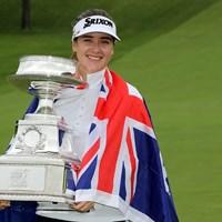 ハンナ・グリーンがツアー初優勝をメジャーで遂げた(Streeter Lecka/PGA of America/PGA of America via Getty Images) 2019年 KPMG女子PGA選手権 最終日 ハンナ・グリーン