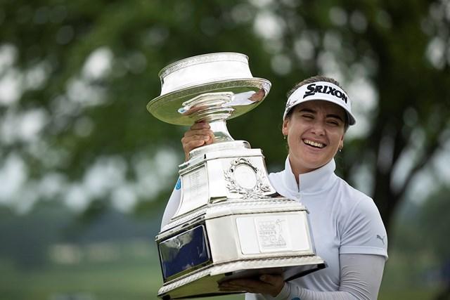ハンナ・グリーンはメジャー制覇で世界ランキング急浮上(Star Tribune via Getty Images)