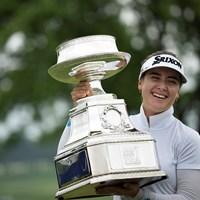 ハンナ・グリーンはメジャー制覇で世界ランキング急浮上(Star Tribune via Getty Images) 2019年 KPMG女子PGA選手権  最終日 ハンナ・グリーン