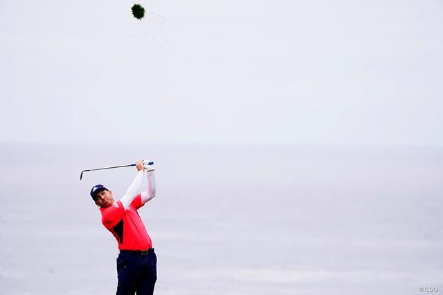 ガルシアは好相性の大会で4連覇を狙う ※画像は2019年全米オープン