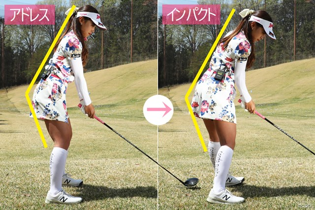 どんなに右足を蹴っても、右ひじをたたんでも、前傾角度は変わらない