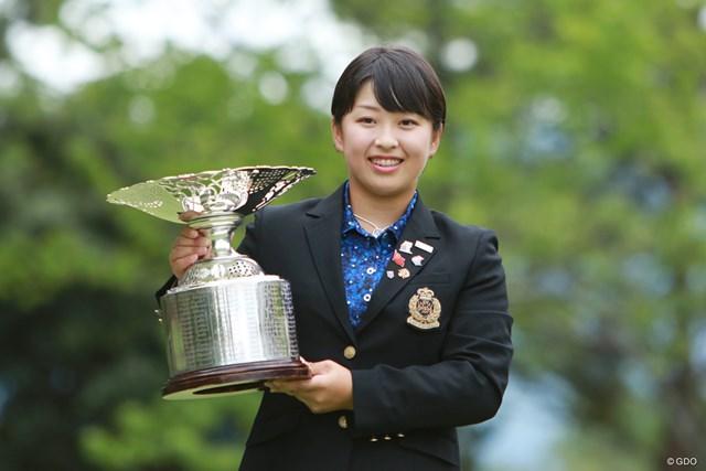 令和初の日本女子アマチャンピオンとなった西郷真央