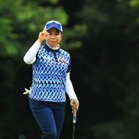 上位をキープして決勝へ 2019年 アース・モンダミンカップ 2日目 吉田弓美子