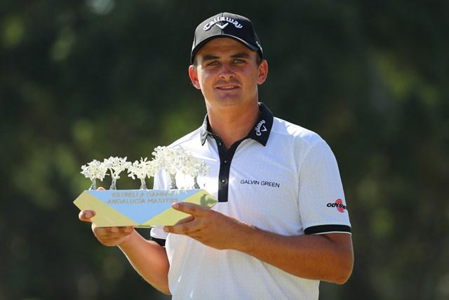 南アの25歳、ベゾイデンハウトが初優勝を飾った(Warren Little/Getty Images)