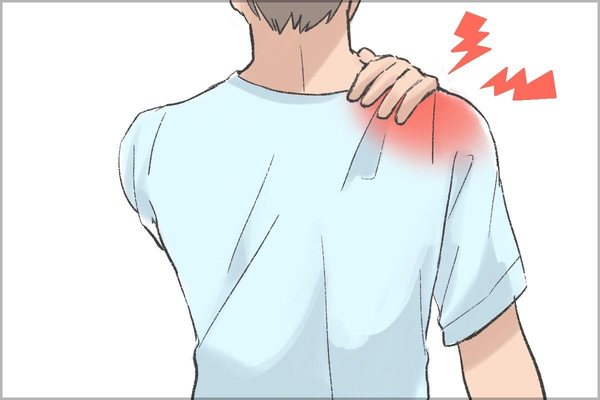 痛い 二の腕 内側