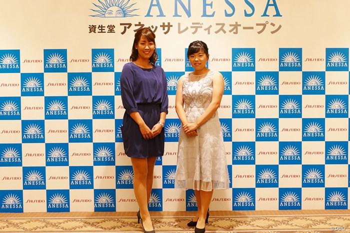 コースとは異なる印象ですね 2019年 資生堂アネッサレディスオープン 事前 福田真未 勝みなみ