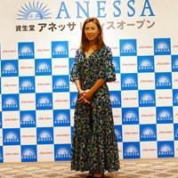 美の秘訣は「元気」 2019年 資生堂アネッサレディスオープン 事前 上田桃子