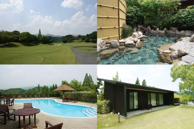 東京ドーム29個分の敷地に温泉、屋外プール、ヴィラなどを備える