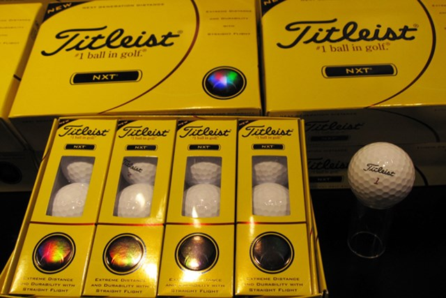 ギアニュース 「VG3ゴルフボール」が登場!タイトリスト、コブラ、フットジョイ新製品発表会 NO.5 飛距離とソフトな打感が特長の「タイトリスト NXTボール」