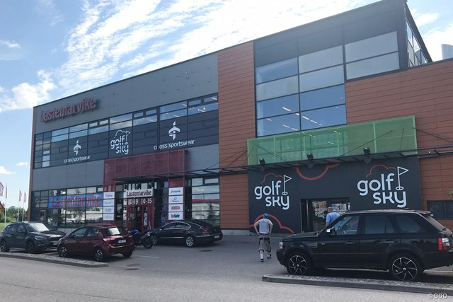 ゴルフスカイ ヘルシンキ空港近くにあるゴルフ用品専門店GolfSky