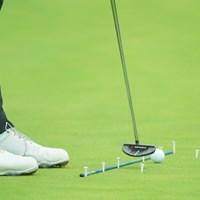 賞金ランク1位のパッティング練習法。 2019年 日本プロゴルフ選手権大会 事前 ジャズ・ジェーンワタナノンド