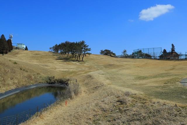 冬の神戸ゴルフ倶楽部