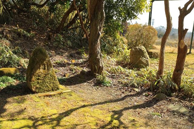 アーサー・グルームさんの山荘「101」にあった石碑が神戸ゴルフ倶楽部に移設されている