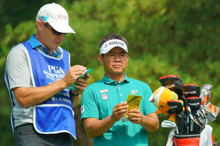 先月50歳になったベテラン藤田寛之が6アンダーの好発進を決めた 2019年 日本プロゴルフ選手権大会 初日 藤田寛之
