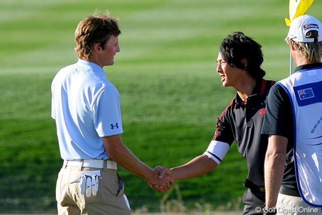 2010年 WGCアクセンチュアマッチプレー選手権 初日 石川遼 マイケル・シムに2upで勝利! 1回戦を突破した石川遼