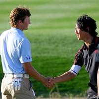 マイケル・シムに2upで勝利! 1回戦を突破した石川遼 2010年 WGCアクセンチュアマッチプレー選手権 初日 石川遼