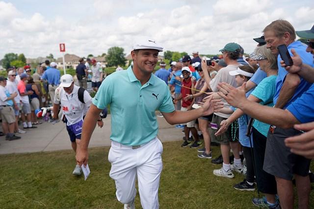 ブライソン・デシャンボーが「62」をマークした(Jerry Holt/Star Tribune via Getty Images)