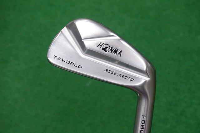 新製品レポート 本間ゴルフ TW-MB ローズ プロト アイアン ジャスティン・ローズの好みが反映された本間ゴルフ「TW-MB ローズ プロト アイアン」