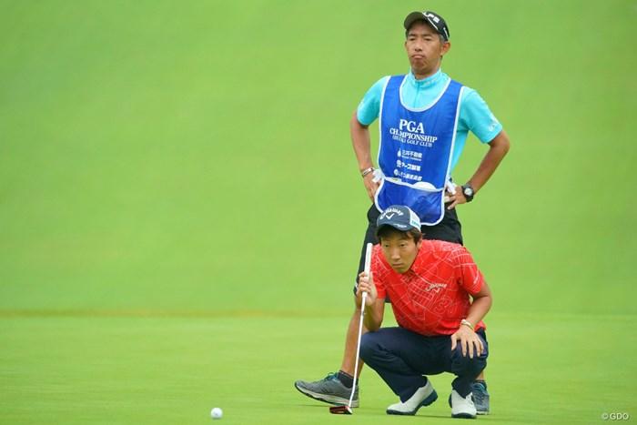 今日はパッティングが絶好調! 2019年 日本プロゴルフ選手権大会 2日目 重永亜斗夢