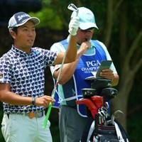 最終日に繋がって良かった。地元の声援を受けての巻き返しに期待したいです。 2019年 日本プロゴルフ選手権大会 2日目 稲森佑貴