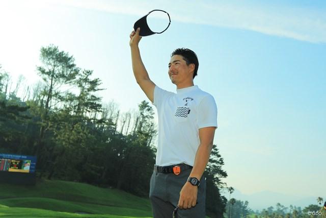 石川遼がひとつの山の登頂に成功した