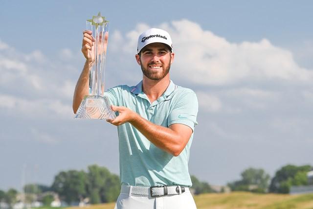マシュー・ウルフがプロ3戦目で初優勝を遂げた (Ben Jared/PGA TOUR via Getty Images)
