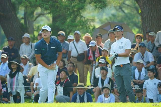 2019年 日本プロゴルフ選手権 石川遼 ハン・ジュンゴン ハン・ジュンゴンとのプレーオフを制して3シーズンぶりの優勝を遂げた石川遼