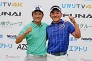 2019年 ひかりTV 4K・FUNAI ダブルスゴルフ選手権 浅地洋佑(左)&池村寛世