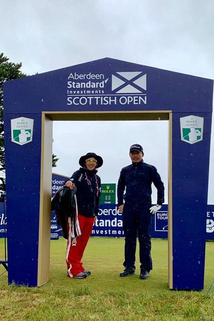 2019年 アバディーンスタンダードインベストメント スコットランドオープン 事前 川村昌弘 今週はスコットランドでプレーします!