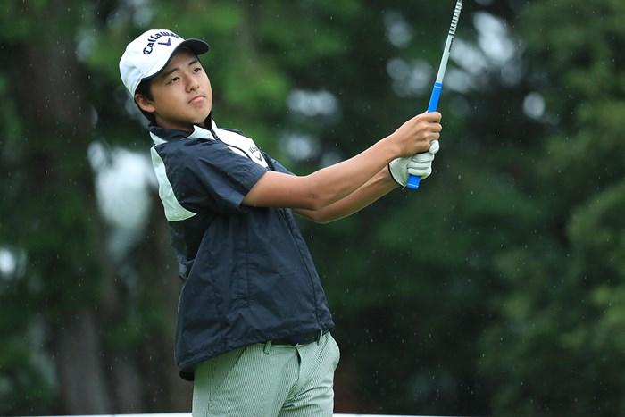 首位と2打差の4位で最終日を迎える石川航(提供:日本ゴルフ協会) 2019年 日本アマチュア選手権 3日目 石川航