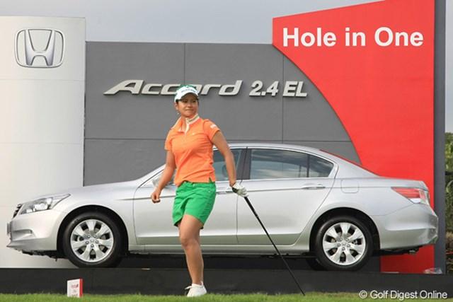 2010年 ホンダPTT LPGAタイランド 初日 宮里藍 安定したゴルフで首位と1打差の好発進を決めた宮里藍