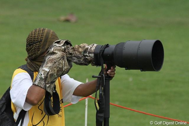 2010年 ホンダPTT LPGAタイランド 初日 ゲリラ 戦場にいたら、間違いなく撃たれます・・・
