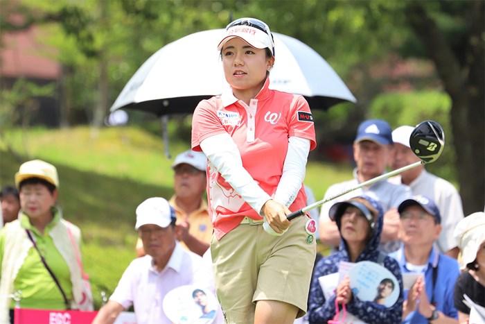 首位をキープしたまま最終日に臨むサイ・ペイイン(提供:日本女子プロゴルフ協会) 2019年 ECCレディス ゴルフトーナメント 2日目 サイ・ペイイン