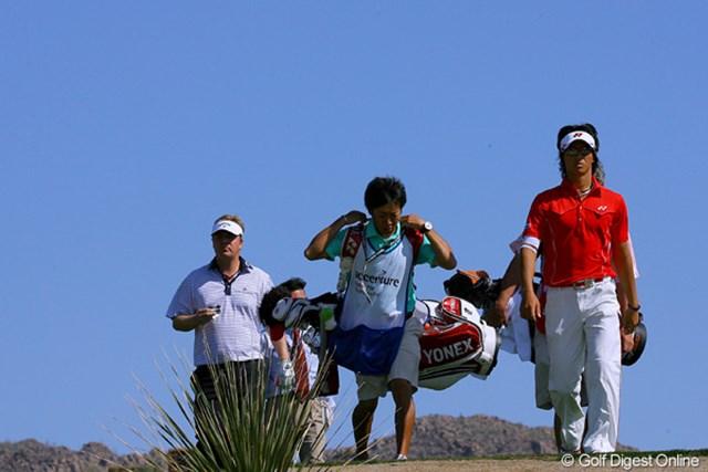 2010年 WGCアクセンチュアマッチプレー選手権 2日目 石川遼 R.マクガワンを下し、ベスト16進出を決めた石川遼