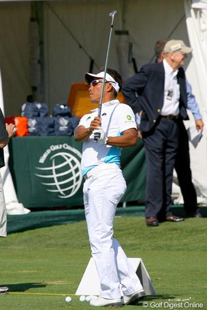 2010年 WGCアクセンチュアマッチプレー選手権 2日目 トンチャン・ジェイディ 明日の石川遼の相手となるタイのスター選手、トンチャン・ジェイディ