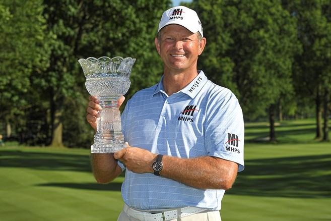 ゴルフ殿堂入りから1カ月 グーセンが米シニア初優勝