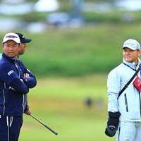 丸山さんから何かヒントは得られたかな? 2019年 全英オープン 事前 池田勇太