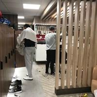 ホスピタリティの一貫として散髪屋も 2019年 全英オープン 3日目 散髪屋
