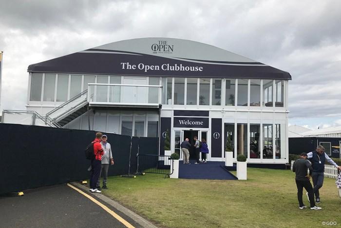 これが選手用のホスピタリティ施設 2019年 全英オープン 3日目 The-Open-Clubhouse